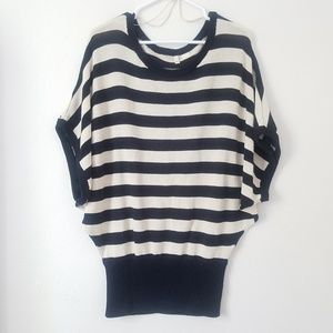 Moth Anthropologie | Stripped Knit Top